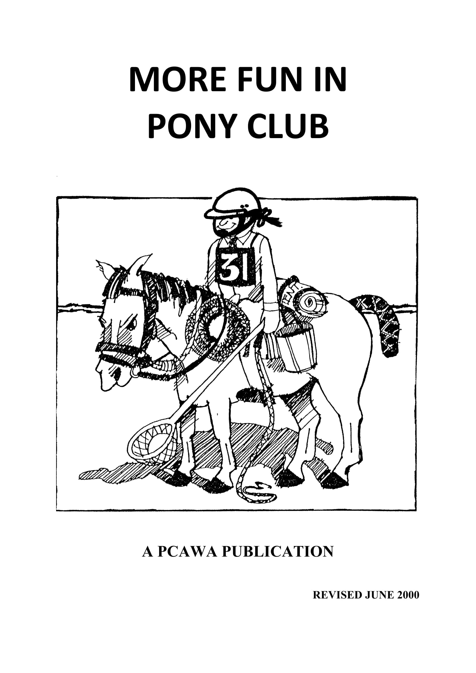 More Fun In Pony Club