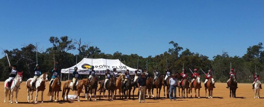 2017 PONY CLUB WA TENT PEGGING CUP