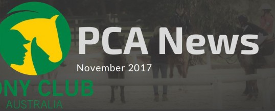 PCA News – November