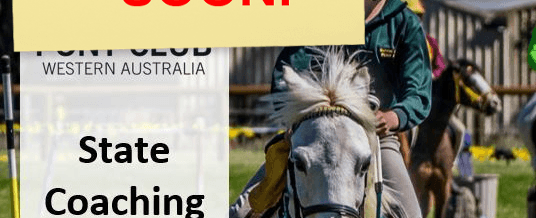Pony Club WA State Coaching School CLOSING SOON!