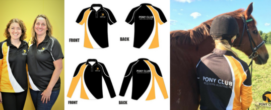 Pony Club WA Polo Shirts – Second Batch For Order!