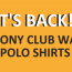 HAVE YOU ORDERED YOUR PONY CLUB WA POLO SHIRT?