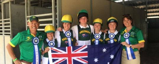 AUSTRALIA WINS INTERNATIONAL MOUNTED GAMES 2019!
