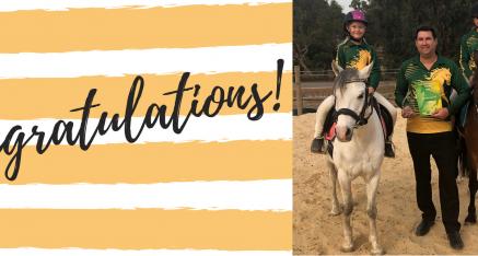 HORSEMEN'S PRESIDENT CROWNED 2019 PCA VOLUNTEER OF THE YEAR!
