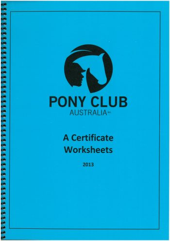 Certificate Manuals & Discs