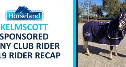 HORSELAND SPONSORED PONY CLUB RIDER 2019 RECAP