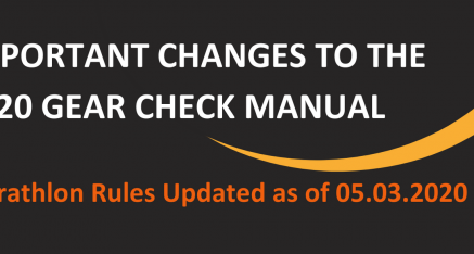 Important Changes to the 2020 Gear Check Manual