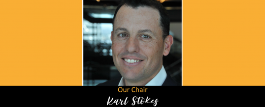 Karl Stokes as Pony Club WA New Chair