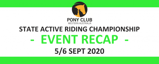 State Active Riding Champs Recap!