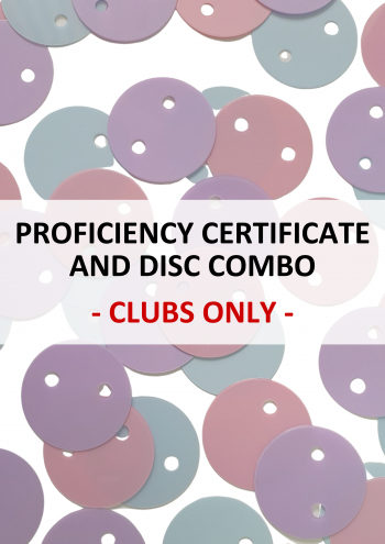 CLUBS ONLY - Proficiency Certificates