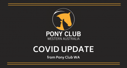 Covid Update from Pony Club WA