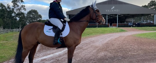 Check out what our State Showjumping Squad have been up to…